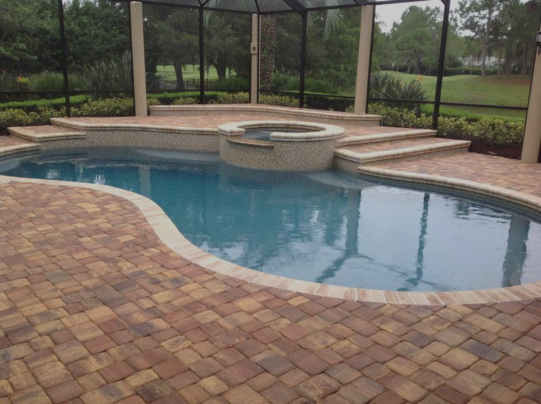 Custom 60 Pool Deck Pavers Concrete Pavers Inspiration Of Concrete Paver Pool Decks The